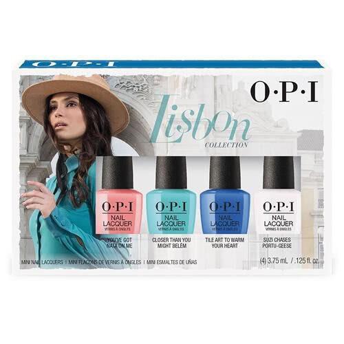 OPI Infinite Shine Nail Polish - Lisbon Mini 4-Pack
