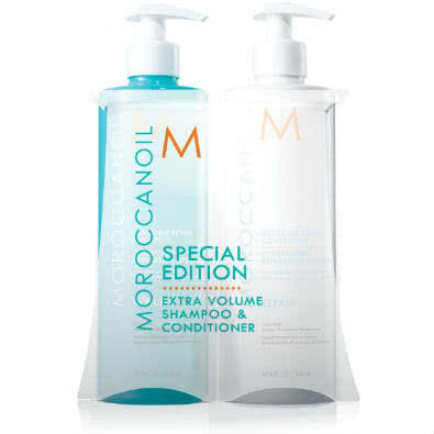 MOROCCANOIL Extra Volume Shampoo & Conditioner Duo - Special Edition  by MOROCCANOIL