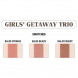 theBalm Girls Getaway Trio Long-Wearing Bronzer Blush by theBalm