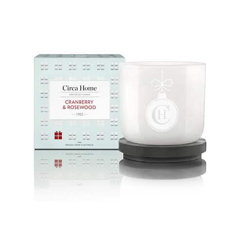 Circa Home Cranberry & Rosewood Classic Candle 260g by Circa Home