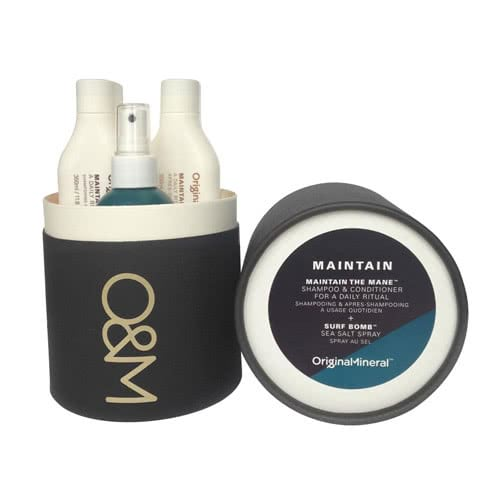O&M MAINTAIN Gift Set: Maintain the Mane Duo & Surf Bomb by O&M Original & Mineral