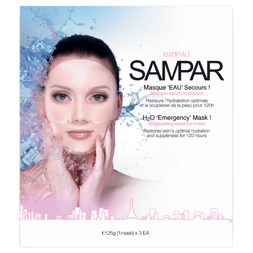 SAMPAR H2O 'Emergency' Mask - 3 pack by SAMPAR