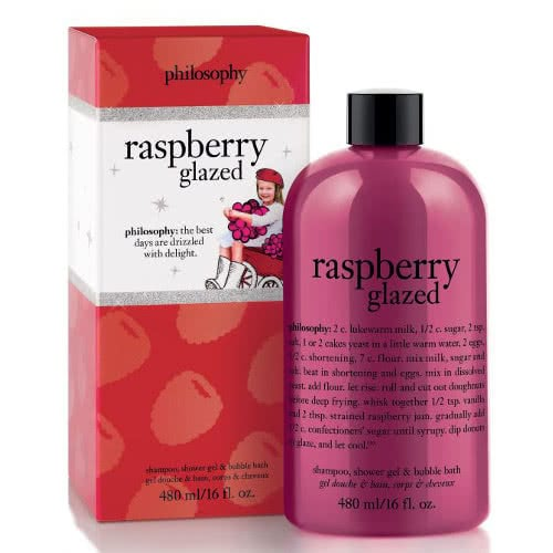 philosophy shampoo bath & shower gel - raspberry glazed by philosophy