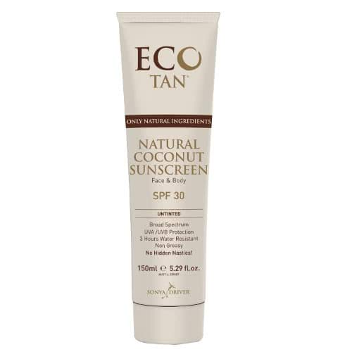 Eco Tan Natural Sunscreen - Untinted by Eco Tan