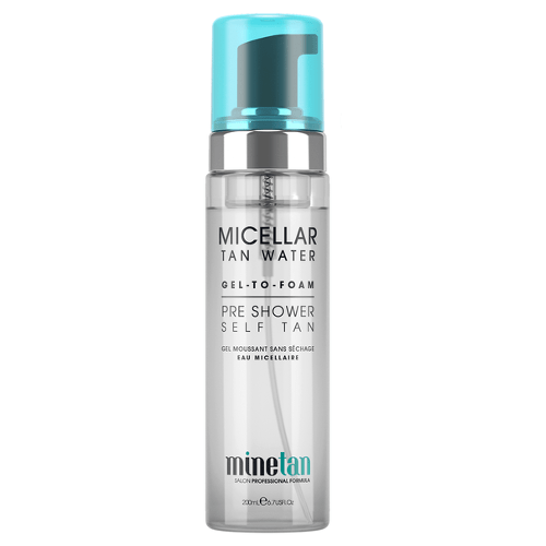 Minetan Micellar Tan Water Gel To Foam Self Tan by MineTan
