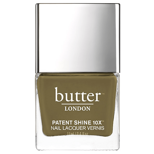 butter LONDON Patent Shine 10X Nail Polish - British Khaki by butter LONDON