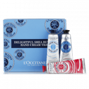 L'Occitane Delightful Whipped Shea Butter Hand Cream Trio by L'Occitane