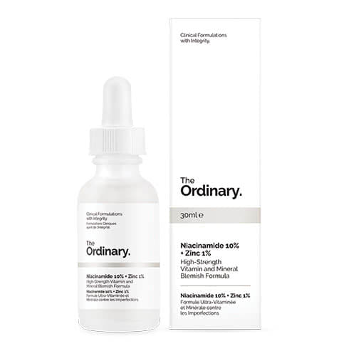 The Ordinary Niacinamide 10% + Zinc 1% by The Ordinary