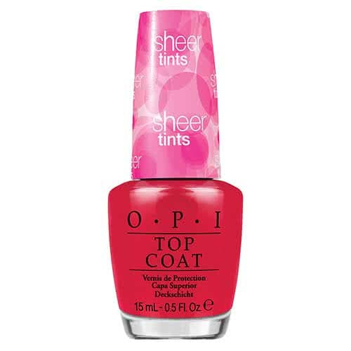 OPI Sheer Tints Nail Polish Collection Be Magentale With Me  by OPI