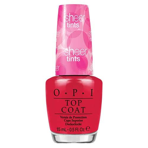 OPI Sheer Tints Nail Polish Collection Be Magentale With Me  by OPI color Be Magentale With Me