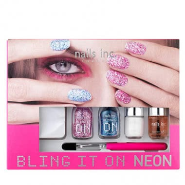 Nails Inc Bling It On Neon Nail Art Kit Reviews Free Post