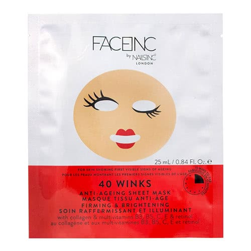 Face Inc 40 Winks Sheet Mask - Anti Ageing by nails inc.