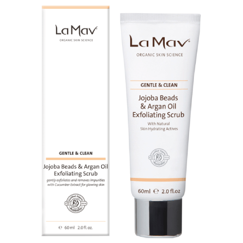 La Mav Jojoba Beads & Argan Oil Exfoliating Scrub by La Mav Organic Skin Science