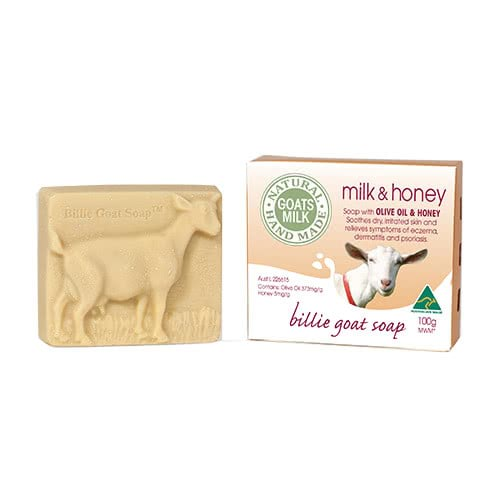 Billie Goat Body Bar Milk & Honey by Billie Goat Soap
