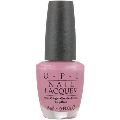 OPI Nail Lacquer - Aphrodites Pink Nightie (Frosted)