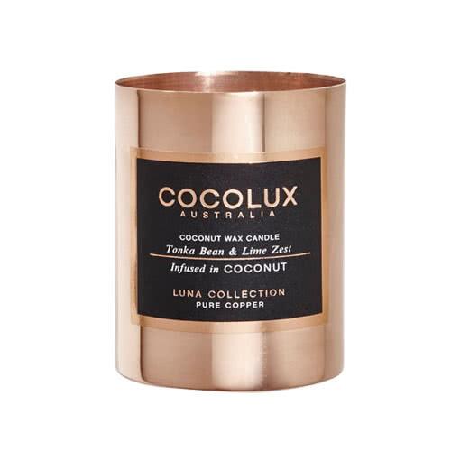 Cocolux Candle – Tonka Bean & Lime Zest 150g by Cocolux Australia