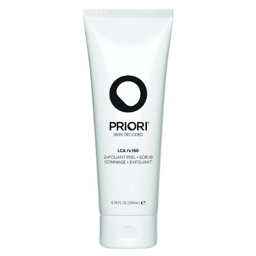 Priori LCA fx160 2xfoliant Peel + Scrub