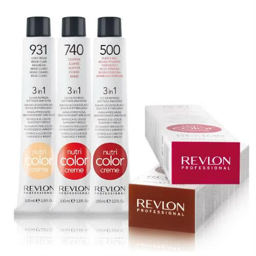 Revlon Professional Nutri Color Cr 232 Me 812 Light Pearl