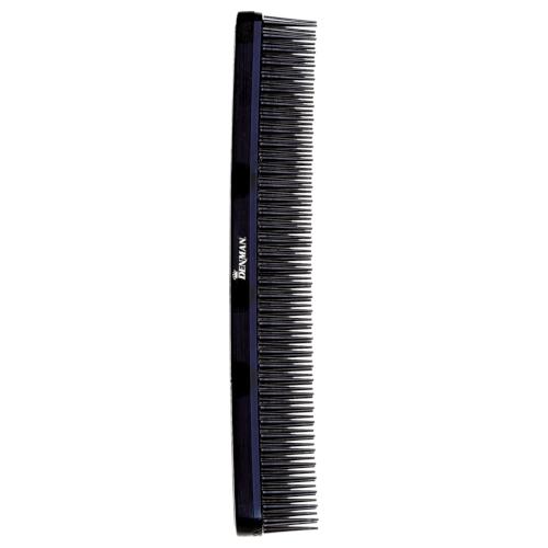 Denman Tame'n'Tease Comb - Black