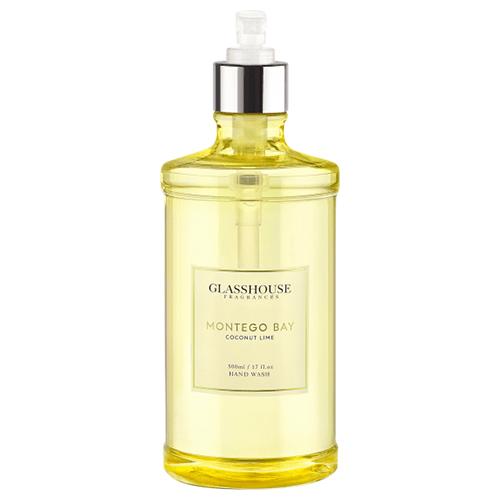 Glasshouse Montego Bay Hand Wash - Coconut Lime  by Glasshouse Fragrances