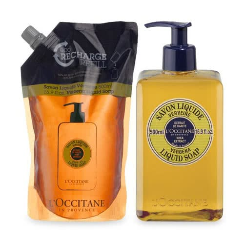 L'occitane Verbena Liquid Soap Eco Duo by L'Occitane