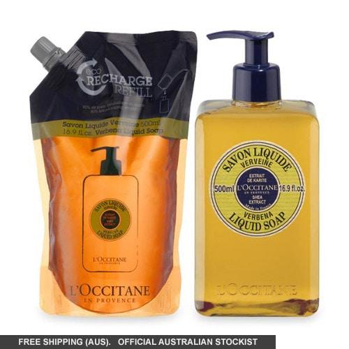 L'occitane Verbena Liquid Soap Eco Duo by loccitane