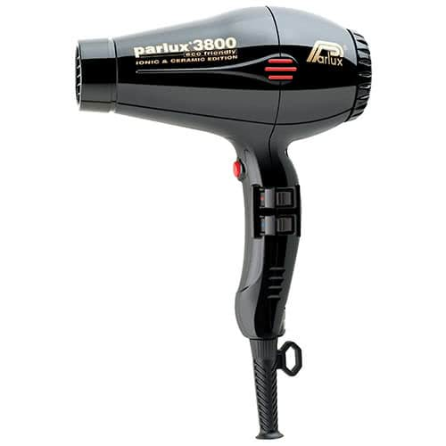 Parlux 3800 Ceramic/Ionic Hairdryer - Black by Parlux