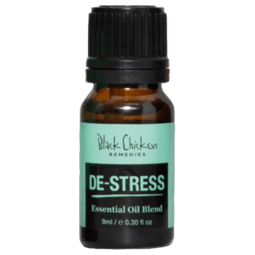 Black Chicken Remedies De-Stress Essential Oil Blend by Black Chicken Remedies