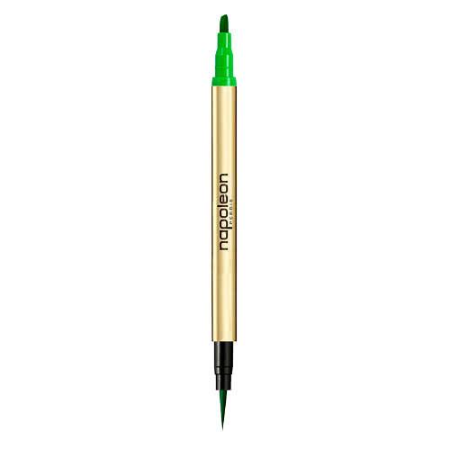 Napoleon Perdis Two-Faced Eyeliner Duo - Privilege - Green by Napoleon Perdis