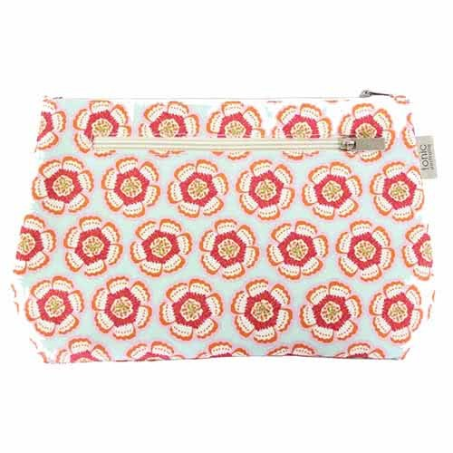 Tonic Small Cosmetic Bag - Flora Pink by Tonic