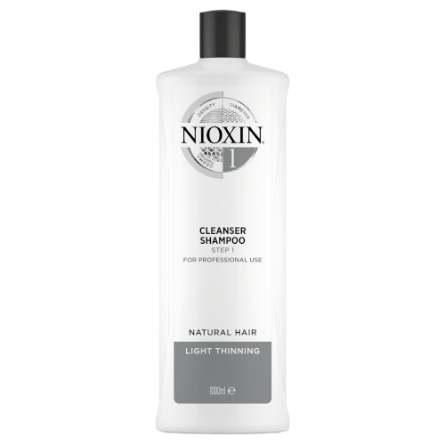 Nioxin 3D System 1 Cleanser Shampoo 1000ml by Nioxin