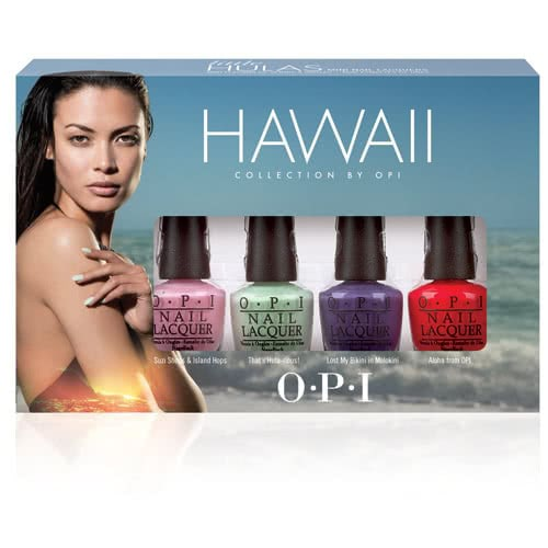OPI Hawaii Mini Nail Polish Collection - Limited Edition by OPI