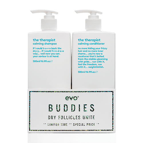 evo BUDDIES the therapist calming 500ml duo by evo