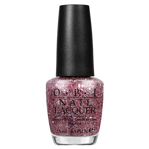 OPI Spotlight On Glitter Nail Polish Collection You Pink Too Much  by OPI color You Pink Too Much