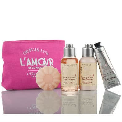 L'Occitane L'Amour Cherry Blossom Gift Set