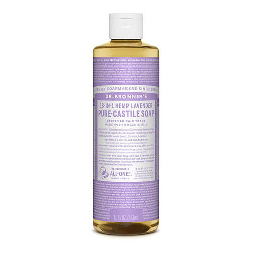Dr. Bronner Castile Liquid Soap - Lavender 473ml