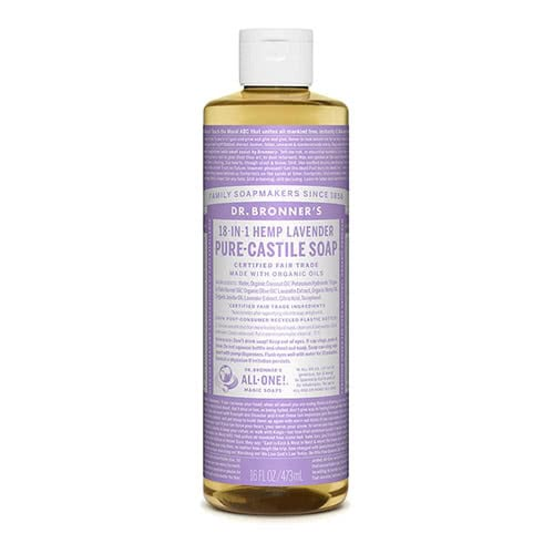 Dr. Bronner Castile Liquid Soap - Lavender 473ml by Dr. Bronner's