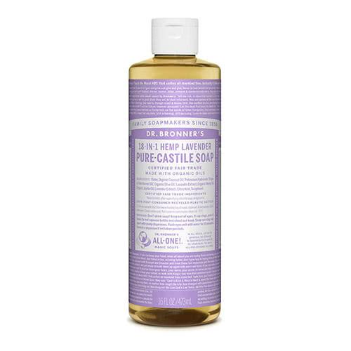 Dr. Bronner Castile Liquid Soap - Lavender 473ml