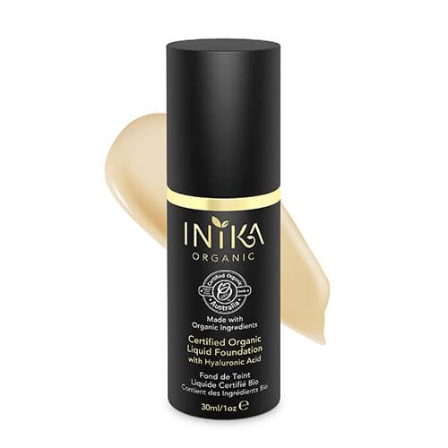 Inika Certified Organic Liquid Mineral Foundation by Inika