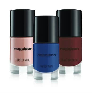 Napoleon Perdis Polished3 Pack 4: Perfect Nude/Cherry Chocolate/French Navy