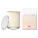 Ecoya Madison Jar Fragranced Candle - Vanilla Bean  by Ecoya