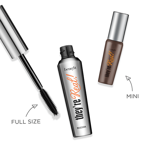 f56144d81d1 Benefit They're Real! Mini Lengthening Mascara + Free Post