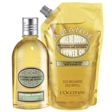 L'Occitane Almond Shower Oil Duo by L Occitane