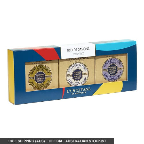 L'Occitane Shea Butter Soap Trio by loccitane