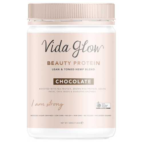 Vida Glow Beauty Protein Chocolate 500g