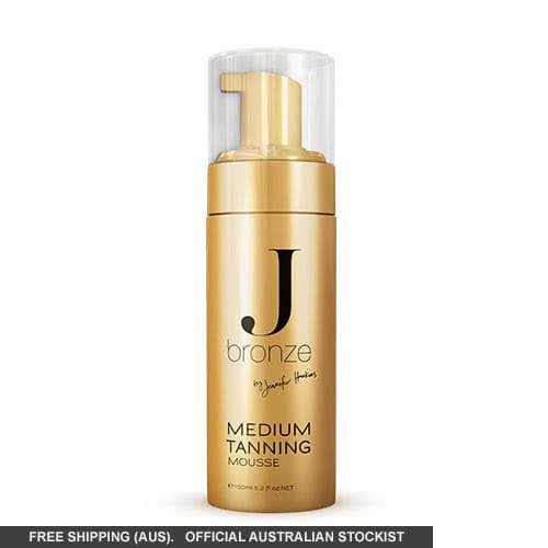 Jbronze Medium Tanning Mousse  color Medium