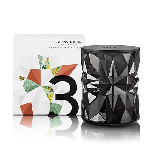 La Maison Glasshouse Candle - No.3 Gardenia Inoubliable  by Glasshouse Fragrances
