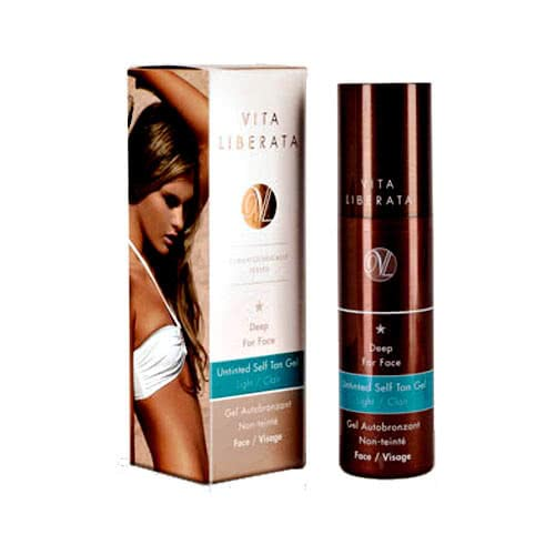 Vita Liberata Deep for Face Untinted Self Tan Gel - Light