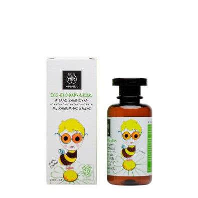 APIVITA Eco-Bio Baby & Kids Mild Shampoo with Chamomile & Honey