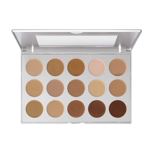 Kryolan HD Micro Foundation Cream Palette - 15 by Kryolan